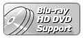 Soporta las dos especificaciones de Blu-ray y HD DVD(High Definition DVD). Viene con el desempeño superior de procesamiento GPU y DDRIII en el cual los usuarios pueden disfrutar los videos de alta definición de 1920x1080(1080p/i).