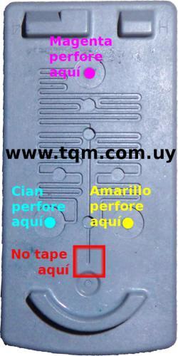 Recarga cartuchos canon (color) cl31 cl38 cl41 cl51
